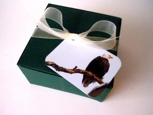 greeting card gift tag