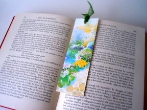 greeting card bookmark