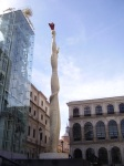 The Reina Sofia Museum in Madrid, Spain